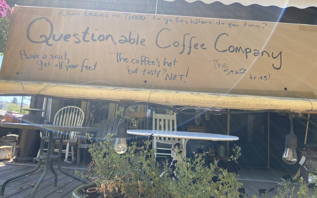 Starting our own coffee shop…….